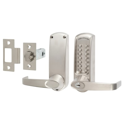 Codelock CL615 Mechanical Lock - Code Free Option - Stainless Steel