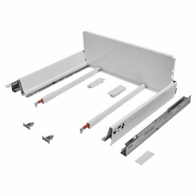 Blum TANDEMBOX ANTARO Pan Drawer - BLUMOTION Soft Close - (H) 203mm x (D) 350mm x (W) 600mm - White