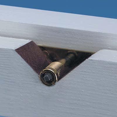 Yale® 8013 Sash Window Lock - Brass