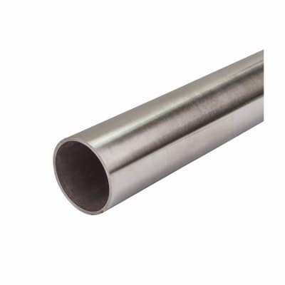 Balustrade 3 Metre Handrail - 304 Stainless Steel - 42 4 x 2mm diameter -  Brushed Satin