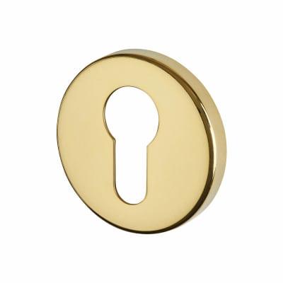 Altro Escutcheon - Euro - PVD Brass