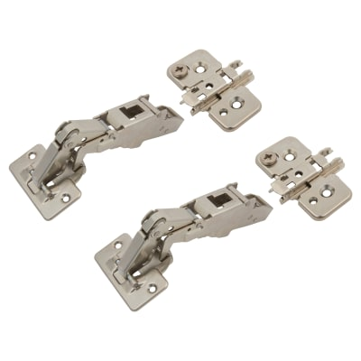 Blum CLIP Top Cabinet Hinge Pack - 170° -Sprung - Overlay - Pair