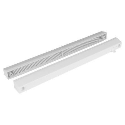Slotvent 3000 S With Front Operation Switch - Brilliant White - uPVC / Timber