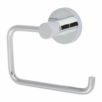 Nymas Style Hook Toilet Roll Holder - Polished Chrome