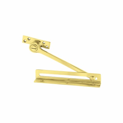 Door & Casement Friction Limiting Stay - Polished Brass