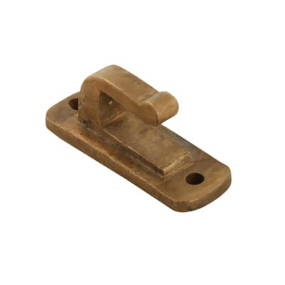 Louis Fraser Curly Tail Spare Hook Plate - Oil Rubbed Bronze