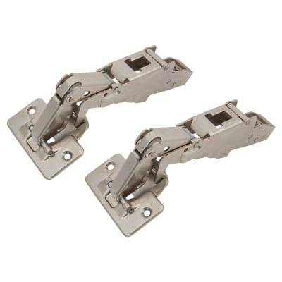 Blum CLIP Top Wide Angle Cabinet Hinge - 170° - Sprung - Overlay - Pair