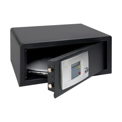 Burg Wächter P 3 E LAP PointSafe Electronic Laptop Safe - 200 x 445 x 380mm - Black