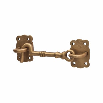 Louis Fraser Cabin Hook & Eye - 101mm - Oil Rubbed Bronze