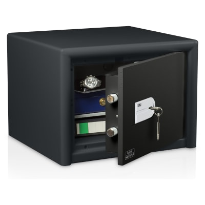 Burg Wächter CL 20 S Combi-Line Key Operated Fire Safe - 360 x 495 x 445mm - Light Grey