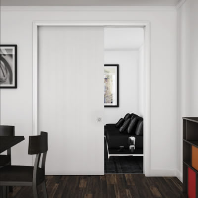 Ducasse 80kg Concealed Straight Sliding Door Gear - 2000mm Track