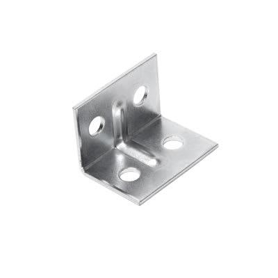 Angle Bracket - 29 x 20 x 20mm - Zinc Plated Steel - Pack 10