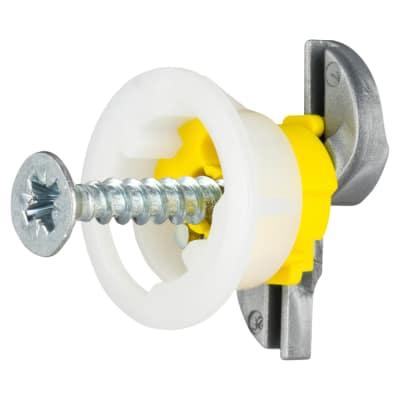 Grip It® Fixing - 15mm Hole - 4.0 x 25mm Screw - Pack 4