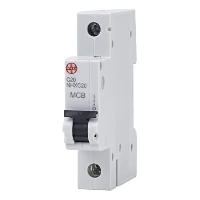 Wylex 20A NH Single Pole MCB - Type C