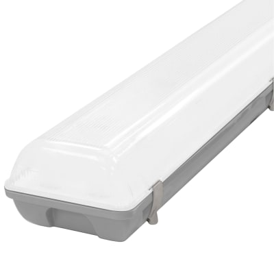 Crompton Manto 60W Integrated 2 High Output LED Batten with Microwave Sensor - 5ft - 4000K