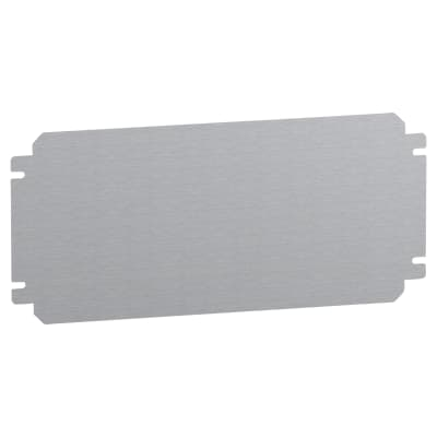 Schneider Spacial SBM Metal Plain Mounting Plate - 300 x 500mm