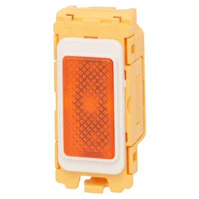 Hamilton Metalclad Grid Fix Module Neon Only - Orange/White
