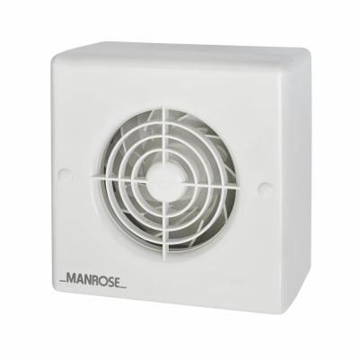 Manrose CF100H 4 Inch Centrifugal Humidistat Extractor Fan