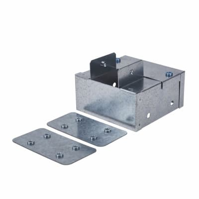 Steel Reducer - 100 x 100mm to 50 x 50mm - Galvanised