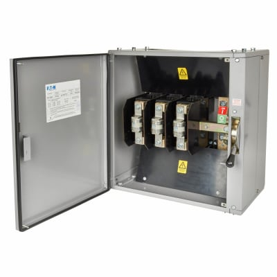 Eaton MEM 400A 415V TPN 3 Phase Fused Switch with HRC Fuses