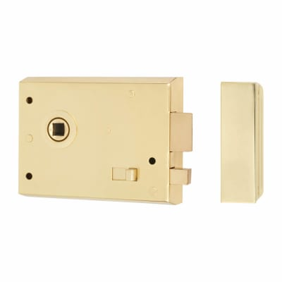 Altro Rim Lock with Snib - Brass