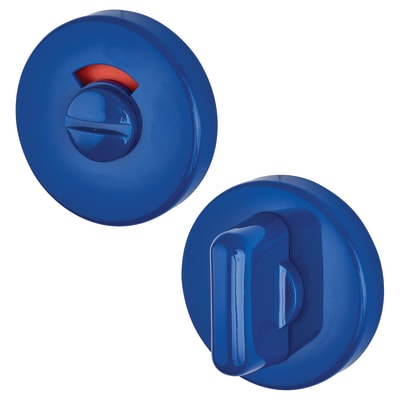 Hoppe Paris Coloured Nylon Bathroom Turn and Release 52 x 9mm - Cobalt Blue