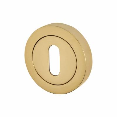 Reguitti Escutcheon - Keyhole - PVD Brass