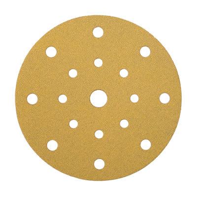 Mirka Gold Disc 17 Hole Festool Multi Jetstream - Grit 320 - Pack 100