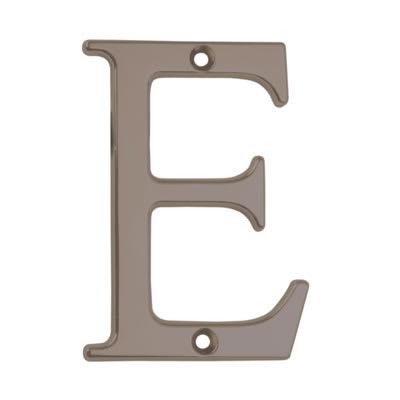 76mm Letter - E - Bright Bronze