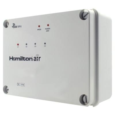 Hamilton Elemento Wireless 4 Channel Radio Receiver - Grey