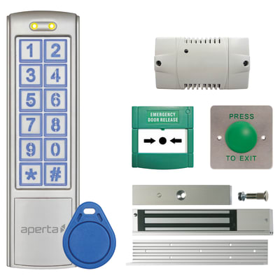 ESP EZTAG3 Door Access Kit - Mushroom Button