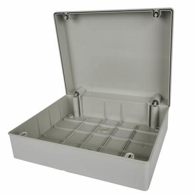 Adaptable Back Box - 81mm - Off-White PVC