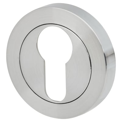 Touchpoint Escutcheon - Euro - Satin Chrome