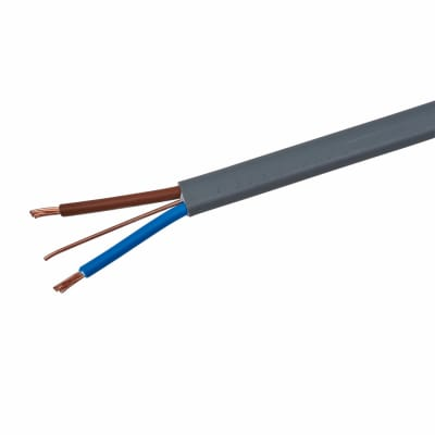 6242Y Twin and Earth Cable - 1mm² x 100m - Grey