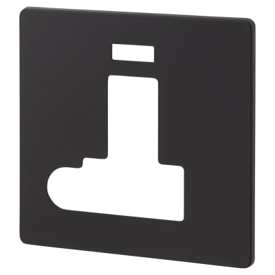 Click Scolmore 13A DP Switched Fused Connection Unit With Flex Outlet & Neon Cover Plate