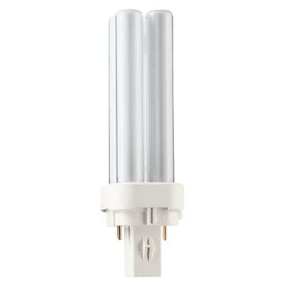 Philips Master 10W PL-C G24-D1 2 Pin Double Compact Fluorescent Lamp - 4000K
