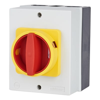 32A 3 Pole Rotary Isolator Waterproof - IP65