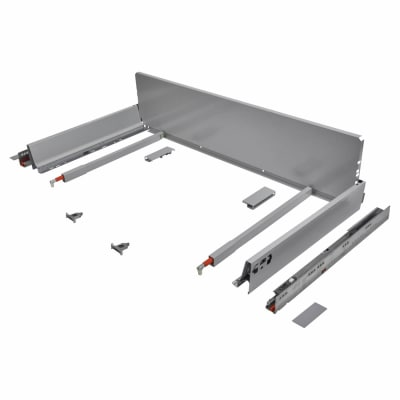 Blum TANDEMBOX ANTARO Pan Drawer - BLUMOTION Soft Close - (H) 203mm x (D) 270mm x (W) 1200mm - Grey
