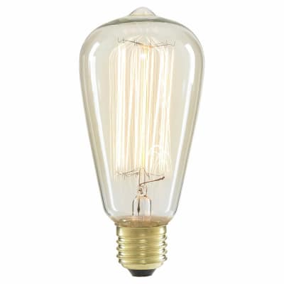 6W LED Vintage Lamp - E27 - Clear