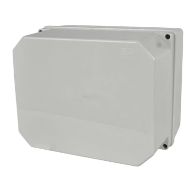 Adaptable Back Box - 78mm - Off-White PVC