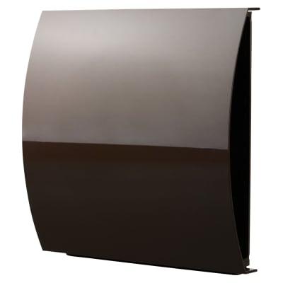 Blauberg External Wind Baffle Vent 125mm - Brown
