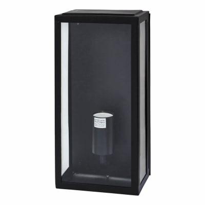 Minerva 60W LED Half Box Lantern - Black