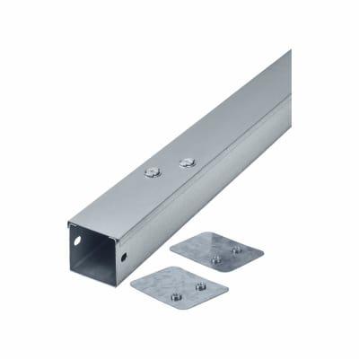 Steel Trunking - 50mm x 50mm x 3m - Galvanised