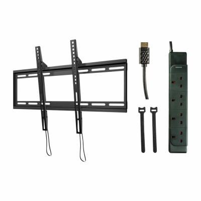 SECURA Wall Mount TV Bracket Starter Kit for 40-70 Inch TV's - Tilting