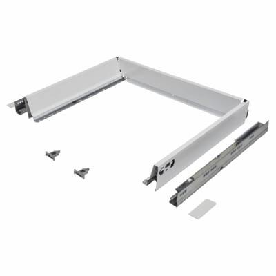 Blum TANDEMBOX ANTARO Drawer Pack - BLUMOTION Soft Close - (H) 84mm x (D) 450mm x (W) 800mm - White