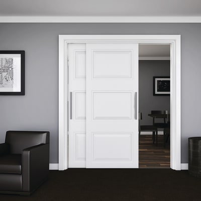 Klug Double Wardrobe Top Sliding Door Kit - 2000mm Track - 45kg