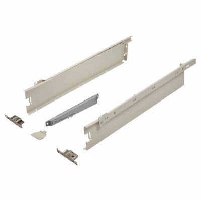 Blum METABOX BLUMOTION Soft Close Drawer Pack - Single Extension - 86mm (H) x 550mm (D) - 30kg