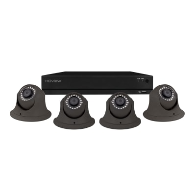 ESP 4CH 4MP 1TB 4 Dome Camera Kit - Grey
