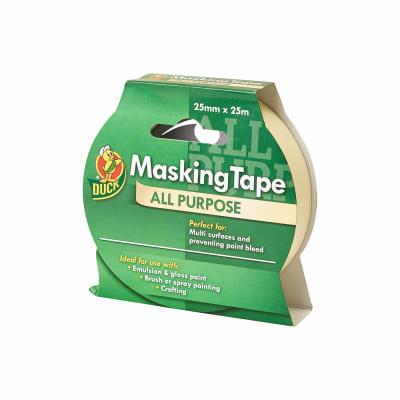 Duck Tape All Purpose Masking Tape - 25mm x 25m - Beige