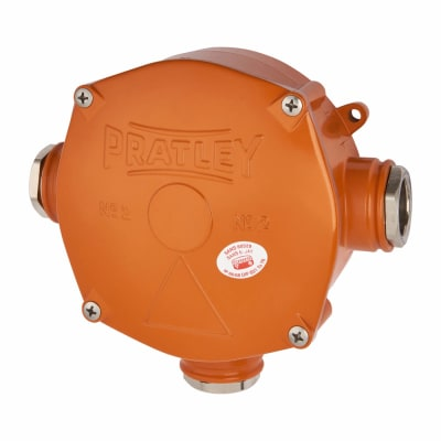 Pratley IP68 32mm 3 Entry Box - Size 2 - Above Ground